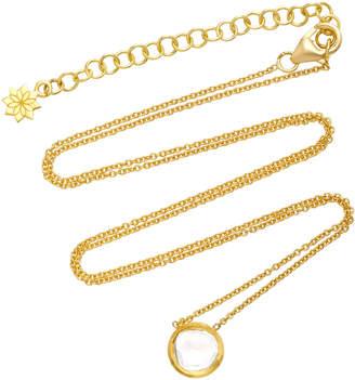 Amrapali Kundan 18K Gold and Diamond Pendant Necklace