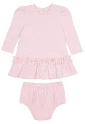 Habitual Baby Girl's Two-Piece Drop-Waist Dress & Panty Set