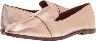Kenneth Cole Reaction Women's Glide Slide Menswear Inspired Square Toe Leather Upper Slip-on Loafer