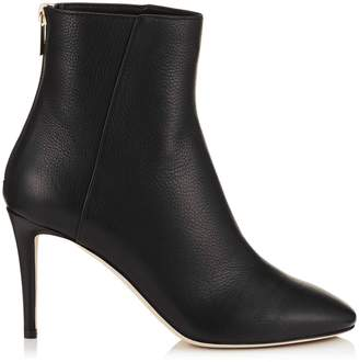 Jimmy Choo Duke 85 Leather Ankle Boots