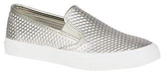 Sperry Seaside Platinum Slip-On Shoes
