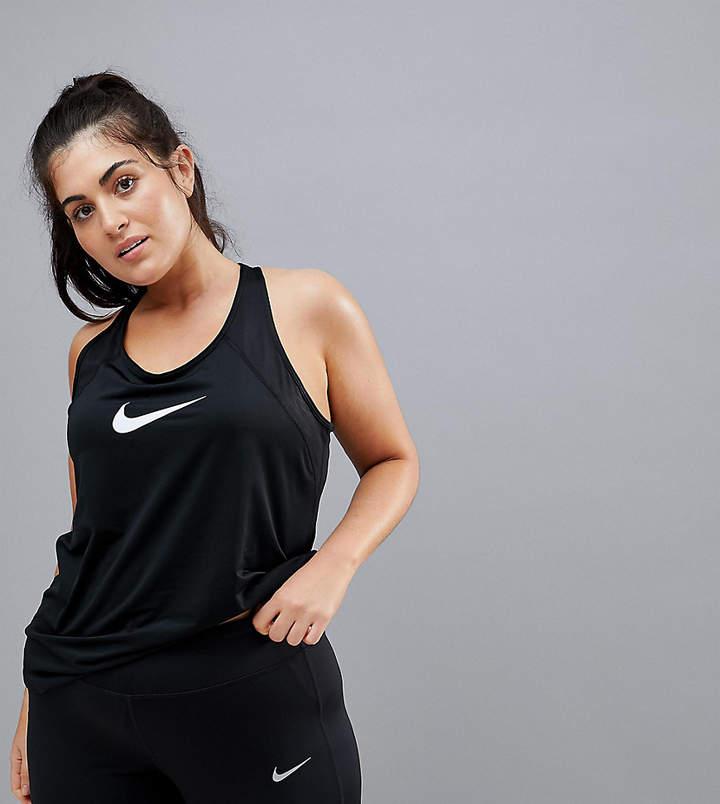Nike Training Nike Plus – Pro Training – Schwarzes Tanktop