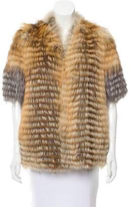 M.PATMOS Fox Fur Jacket