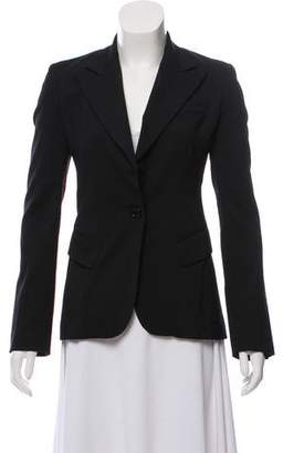 Dolce & Gabbana Structured Single-Breasted Blazer