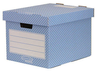 Fellowes Bankers Box Style 4 Pack Home Storage Box - Green