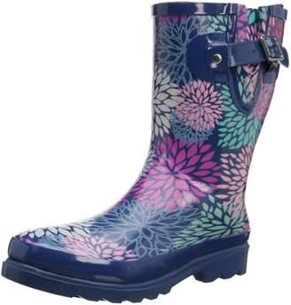 Western Chief Women's Big Bloom Mid Rain Boot