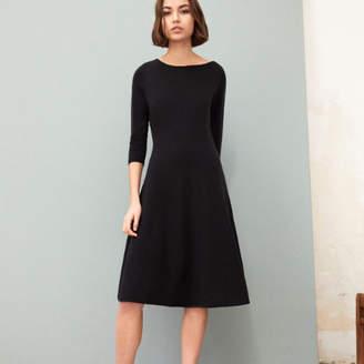 Comptoir des Cotonniers メリノ3Dドレス