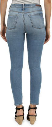 Articles of Society Heather High-Rise Skinny Cropped Jeans