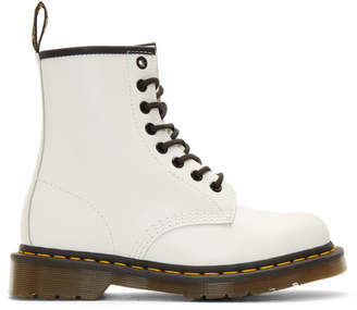 Dr. Martens White Smooth 1460 Boots