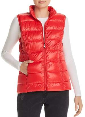 Aqua Packable Puffer Vest - 100% Exclusive