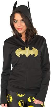 Rubie's Costume Co Costume Women's DC Comics Batgirl Fitted Hoodie