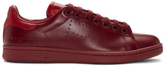 Raf Simons Red adidas Originals Edition Stan Smith Sneakers