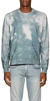 ATM Anthony Thomas Melillo Men's Tie-Dyed Cotton-Cashmere Sweater