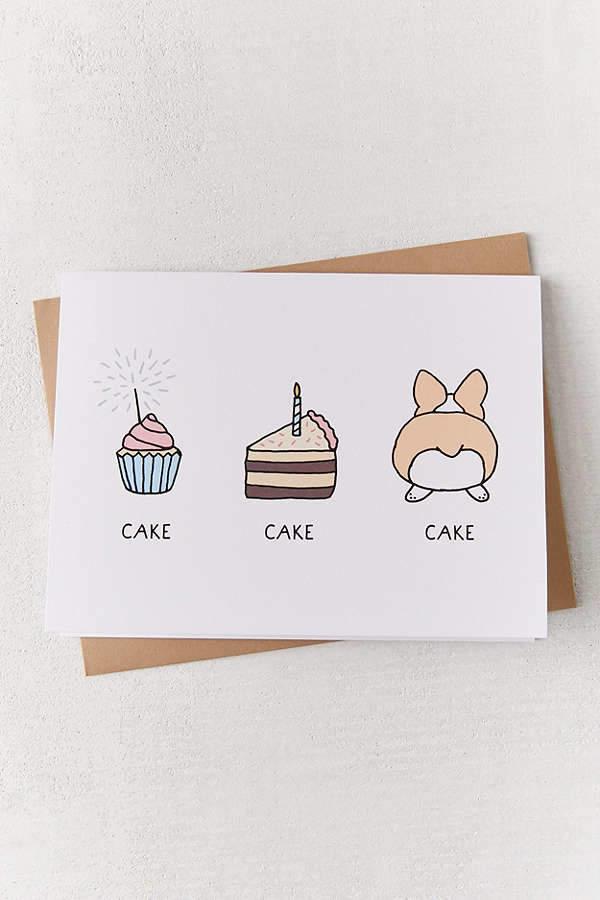 Tiffbits Cake Cake Cake Birthday Card