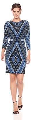 Karen Kane Women's Diamond Sheath Dress