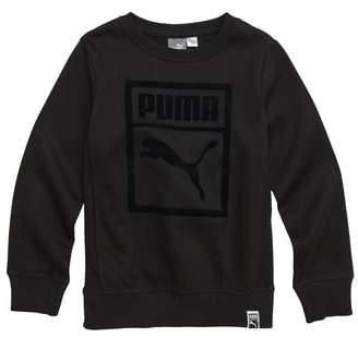 Puma Heritage Fleece Sweatshirt