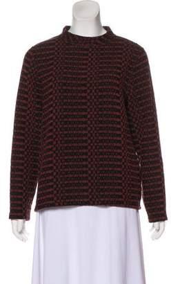 Billy Reid Printed Crew Neck Sweater