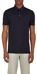 Lanvin Men's Cotton Piqué Polo Shirt - Navy