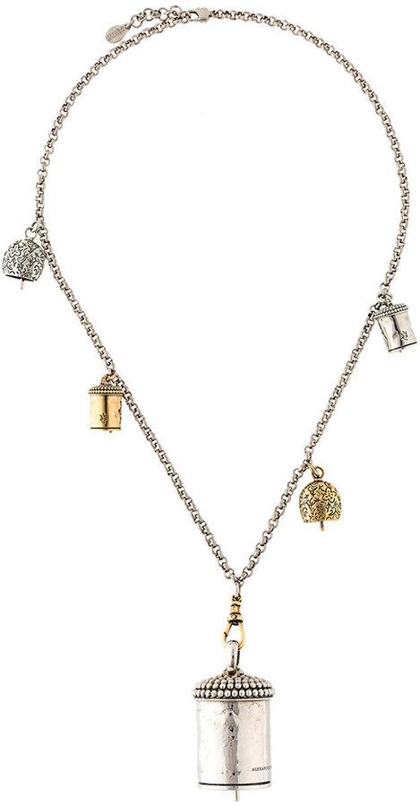Alexander McQueenAlexander McQueen double chain necklace