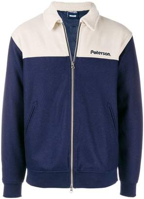 Paterson. two tone bomber jacket