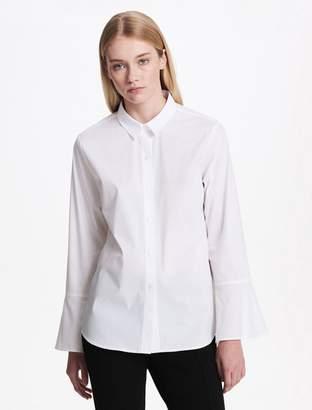 Calvin Klein flare sleeve button down shirt