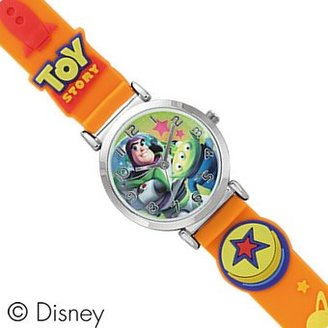 Disney (ディズニー) - ディズニー Disney トイストーリー バズ&エイリアン 人気キャラクター腕時計 オレンジ WD-S02-TS