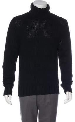 Ralph Lauren Black Label Rib Knit Turtleneck Sweater