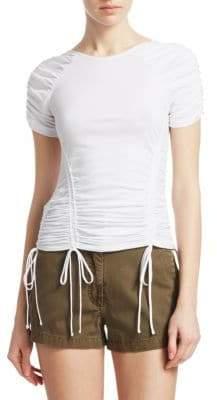 Cinq à Sept Stella Ruched T-Shirt