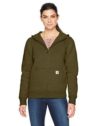 Carhartt Women's Clarksburg Full Zip Hoodie (Regular and Plus Sizes)