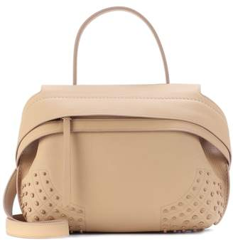 Tod's Wave Small leather tote