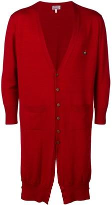 Pre-Owned asymmetric cardi-coat