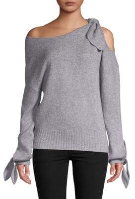 Derek Lam Off-The-Shoulder Cashmere Sweater