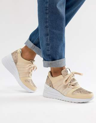 Asos DESIGN Dismay wedge sneakers