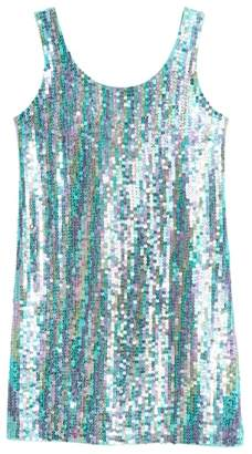 Flowers by Zoe Sequin Front Tank Dress