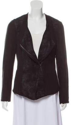 DKNY Faux Suede Casual Jacket
