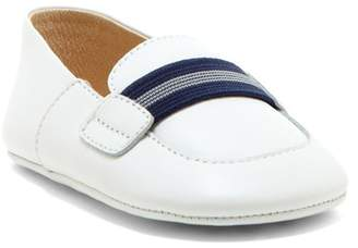 Petit Pas Leather Striped Band Loafer (Baby) $38 thestylecure.com
