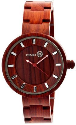 Earth Wood Root Wood Bracelet Watch Red 41Mm