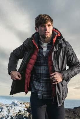 Next Mens Barbour Black Ridge Wax Jacket