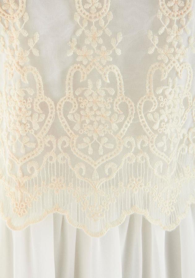 Alabaster Darling Dress