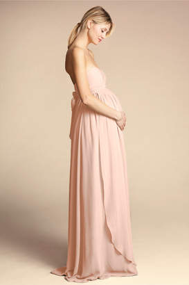 Jenny Yoo Cerise Maternity Dress