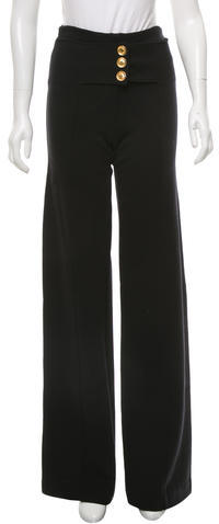 Givenchy Givenchy Wool Wide-Leg Pants
