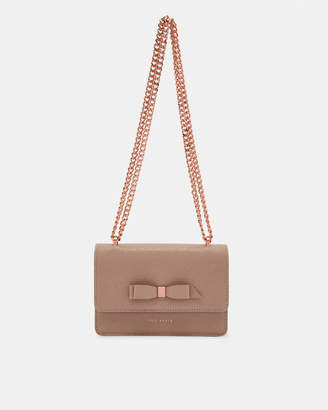 Ted Baker JAYLLAA Bow detail leather body bag