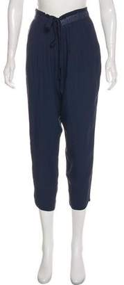 Ramy Brook High-Rise Straight Pants