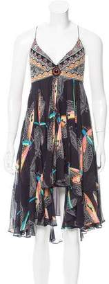 Matthew Williamson Silk Midi Dress