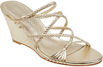 Sigerson Morrison Maddie Leather Wedge Sandal