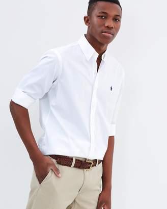 Polo Ralph Lauren Solid Cotton Poplin Shirt