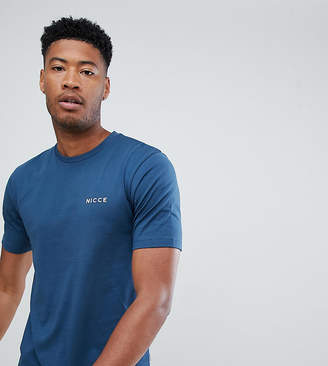 Nicce London logo t-shirt in blue exclusive to ASOS