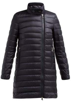 Moncler Berlin Lightweight Quilted Down Coat - Womens - Navy