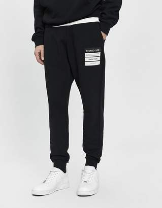 Maison Margiela Stereotype Patch Sweatpant