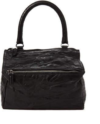 Givenchy Black Pandora Small Leather Satchel